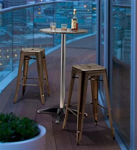Zuo Christabel Folding Bar Table Bistro Tables And Bar Sets Tables To Dress Up Your Dining