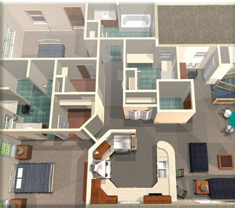 inside home design software free hixxysoft com turbo floorplan home landscape 3d deluxe