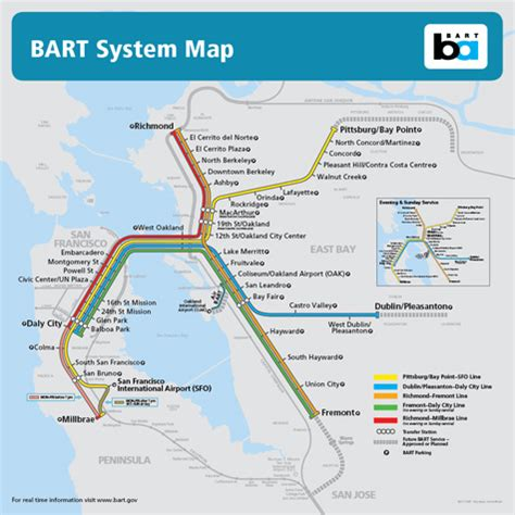 bart system map gis and custom mapping lohnes wright