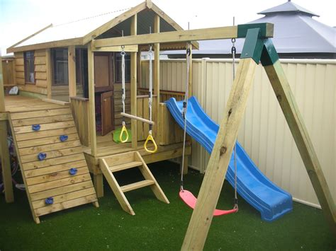 swing house for your backyard timber cubbies sheds studios more
