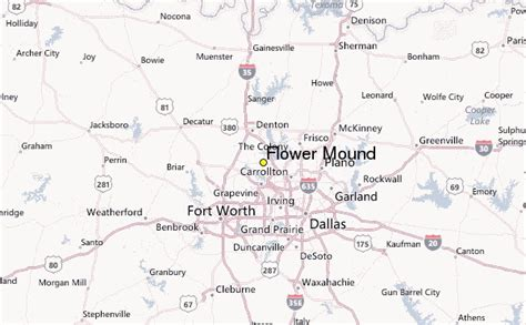 flower mound weather station record historical weather