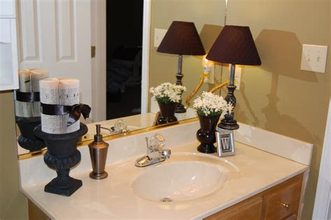 bathroom countertop decorating ideas freestyle bathroom makeover let s get cooking