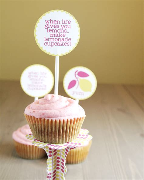 printable recipes for cupcakes when life gives you lemons make lemonade cupcakes recipe