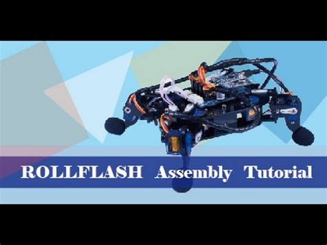 arduino assembly tutorial sunfounder bionic rollflash quadruped robot turtle for
