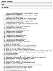 Answer all these questions and you should have a fully developed