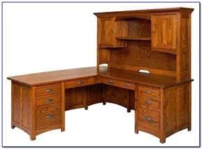 Corner Computer Desk With Hutch For Home Solid Wood Corner Computer Desk With Hutch Desk Home Design Ideas Vpxvv13xzj74543