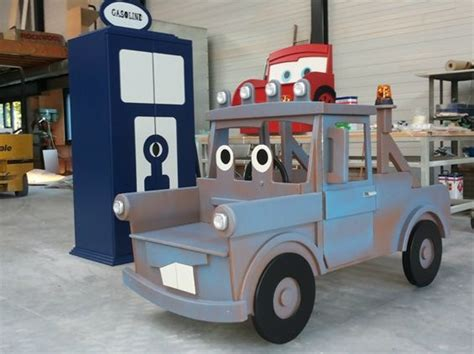 mater bed toddler tow mater cars bed and gasoline wardrobe closet