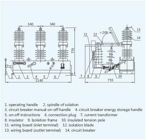 100 vacuum circuit breaker wiring diagram routine
