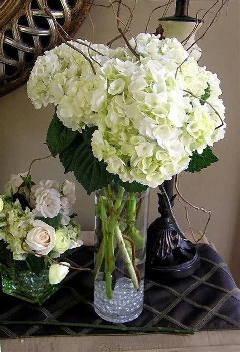 hydrangea floral centerpieces hydrangea centerpiece great minus at the bottom wedding ideas the