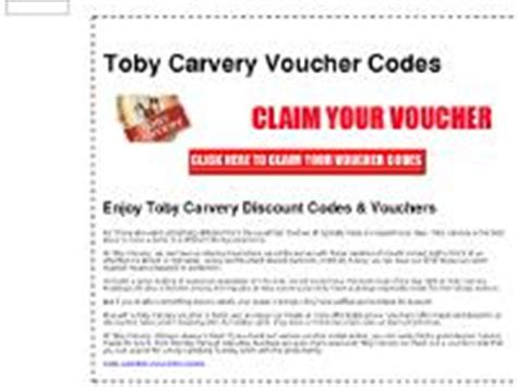 printable vouchers toby carvery www toby carvery restaurants co uk toby carvery discount