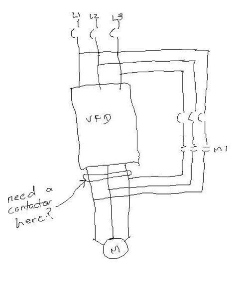 vfd bypass wiring diagram efcaviation
