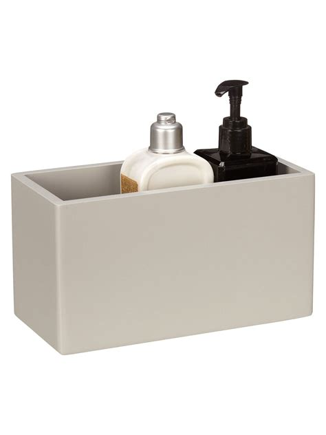 house  john lewis bathroom storage box small grey