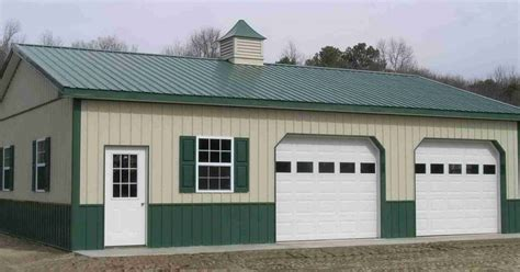 pole barn garage kits  metal building homes