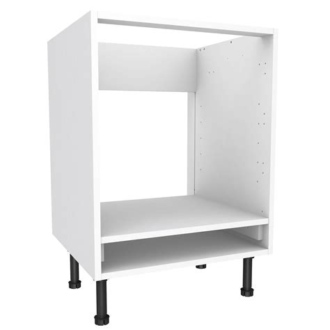oven in base cabinet cooke lewis white oven housing base cabinet w 600mm