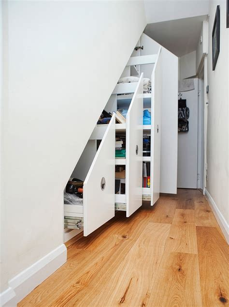 rangement sous escalier et id 233 es d am 233 nagement alternatif