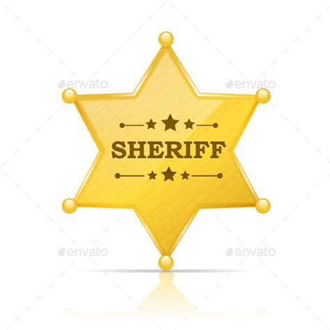 pin sheriff badge template on pinterest