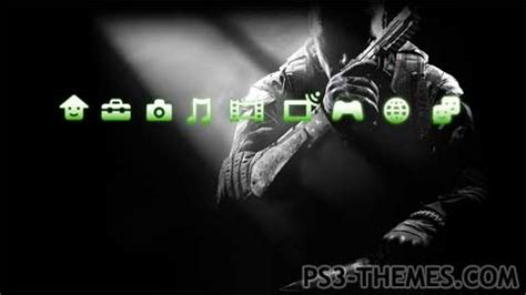 ps3 background themes download ps3 themes 187 cod black ops 2 dynamic theme