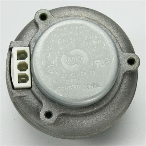 whirlpool refrigerator fan motor w10822259 for whirlpool refrigerator condenser fan motor