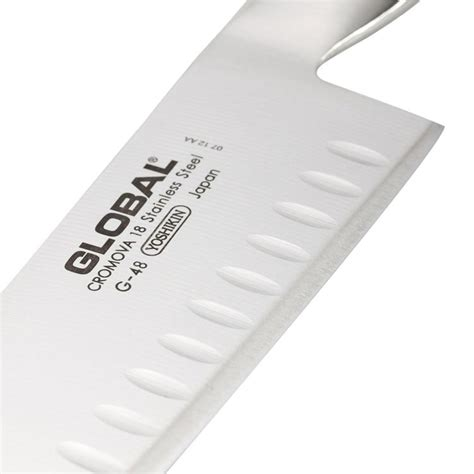 global g 48 18cm fluted santoku slicer review reviews global santoku granton edge knife 18cm g 48 on sale now
