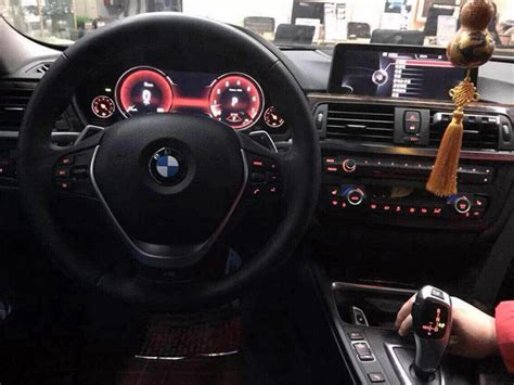 bmw f30 3 series spotted in the wearing fully digital