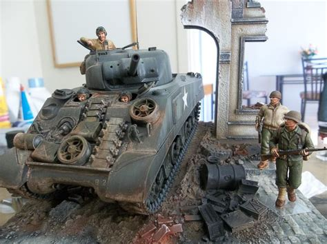 united states m4 sherman earl y production tank in 48
