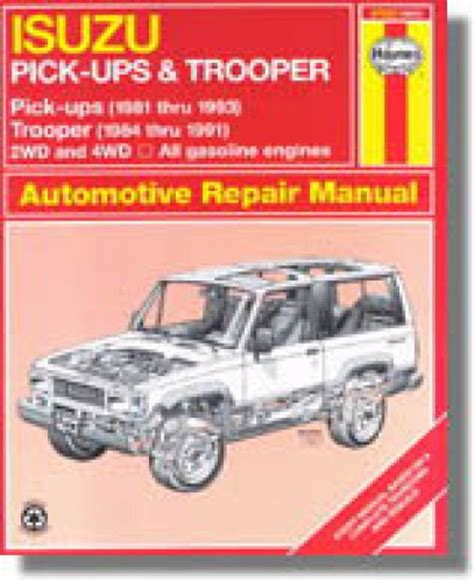 free online car repair manuals download 1996 isuzu rodeo auto manual service manual 1993 isuzu trooper workshop manual free downloads isuzu pick ups 1981 1993