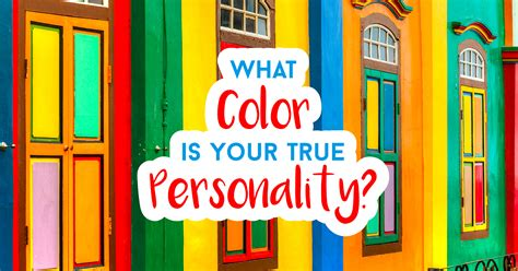 is my quiz what color is your true personality quiz quizony