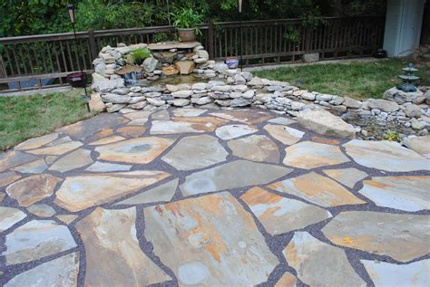 cost of slate patio patio building
