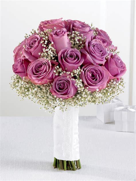 Wedding Flowers Images by Lavender Gypsophila Bridal Bouquet Wedding Flowers