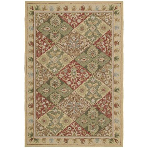 Kaleen Home And Porch Desoto Linen 3 Ft X 5 Ft Indoor Outdoor Rug 3x5