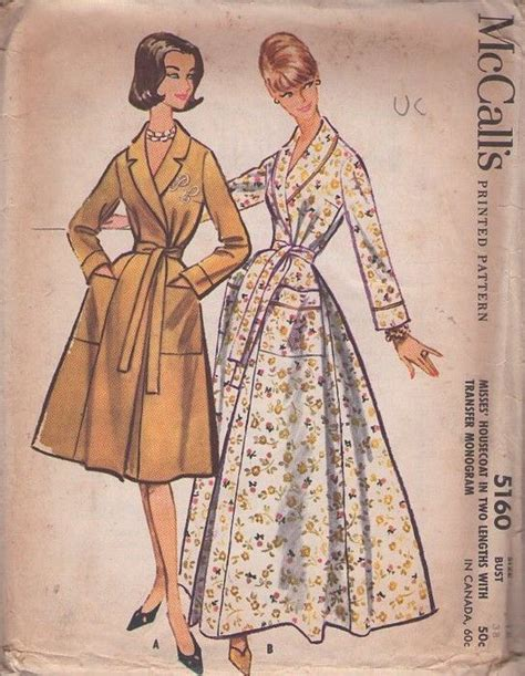 sewing pattern kimono dressing gown 17 best images about vintage house coats sewing patterns