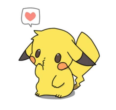 imagenes kawaii de muñecas pikachu cute kawaii anime beso kiss pokemon pikac