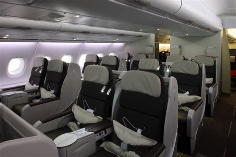 air france economy comfort aviation report global the airbus a380 fleet cabin and