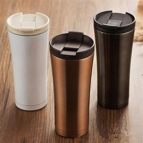 Terlaris Tumbler Starbucks Stainless Steel Termos Botol 500ml sale wall stainless steel coffee thermos cups mugs thermal bottle 500 ml thermocup