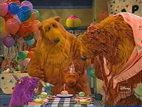 bear inthe big blue house a berry bear christmas you never know bear in the big blue house wikia fandom powered by wikia