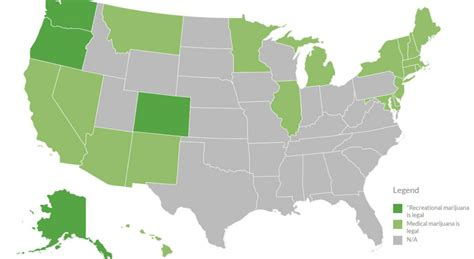 states with legal weed wacky tobacky legalizing its way across america college news