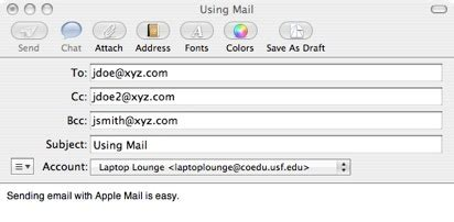 format email address with name how do i send an email 187 e mail 187 mac 187 tech ease