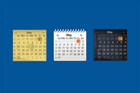 Calendrier Windows 10 Windows Live Calendar Windows 10 Gadget Win10gadgets