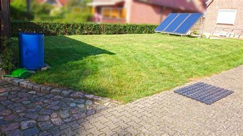 Rasengitter Kunststoff Befahrbar by Kunststoff Rasengittersteine Ohne Unterbau Direkt Auf Den