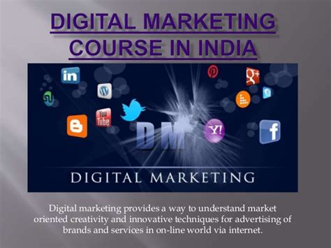 Courses On Digital Marketing by Digital Marketing Course In India