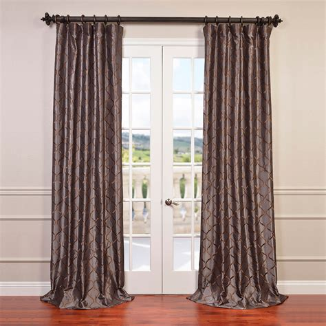 half price curtains coupons cheap price tunisia smoke embroidered faux silk curtain