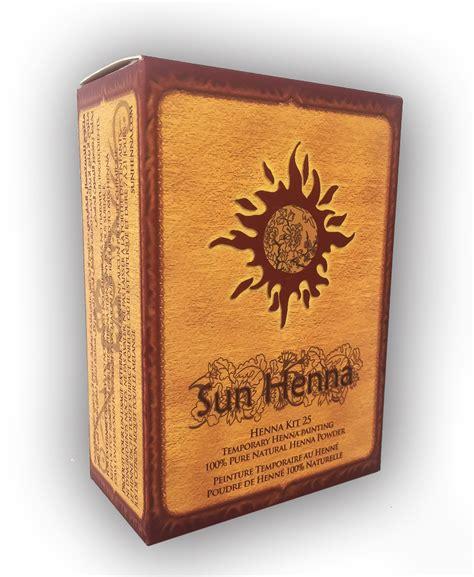 home henna tattoo kit sun henna kit me