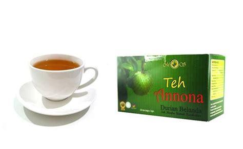Teh Hijau Cup bahan utama untuk teh annona pula adalah daun durian belanda ia juga mengandungi curan teh