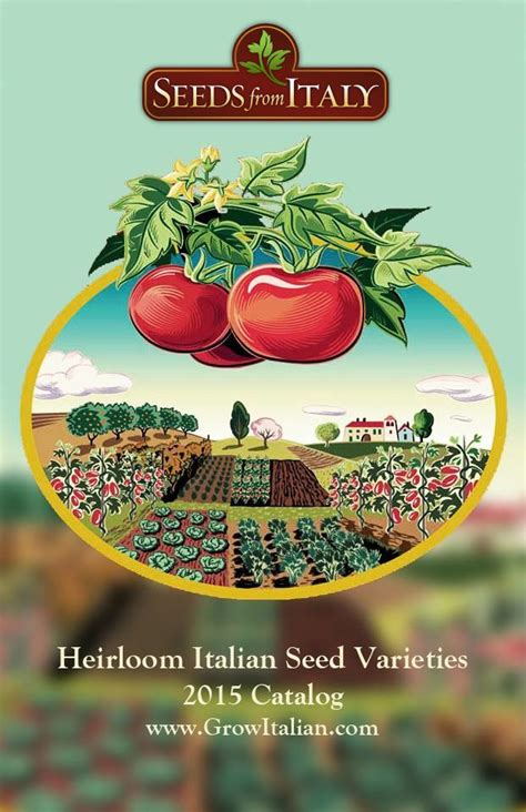 Garden Plants Catalogs by Seeds From Italy Is The Exclusive U S Mail Order