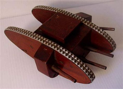 it's just cool: wooden toy tank | toolmonger