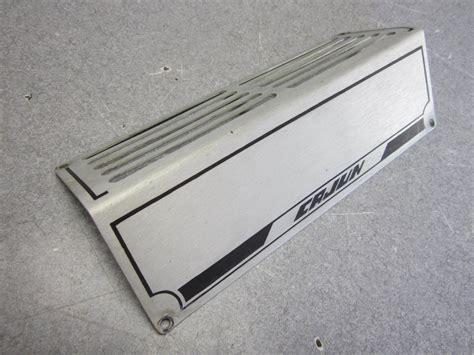 1991 cajun bass boat aluminum vent cover 8 1 2 quot green - Aluminum Bass Boat Prop