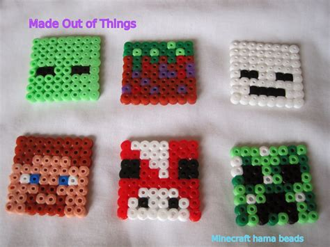 what to do with hama made out of things minecraft mad