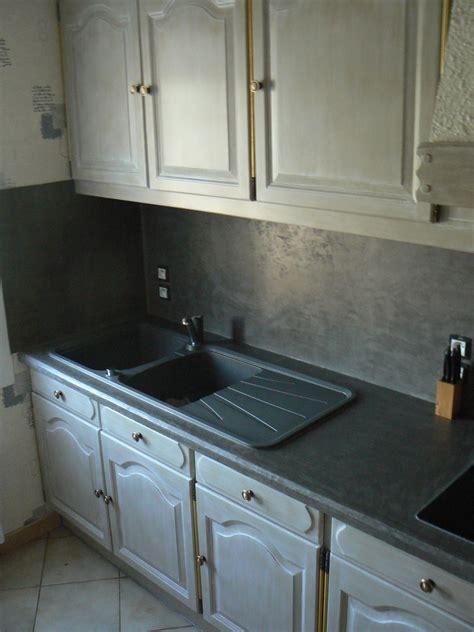 cr馥r une cuisine cuisine rustique relooke cuisine avec peinture gris