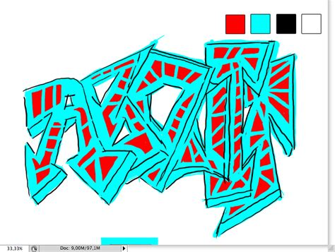 typography graffiti tutorial a brief introduction into graffiti typography
