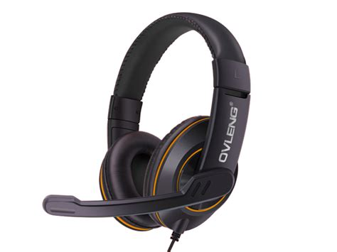 Ovleng Usb Headphones Q1 With Mic Hitam Biru ovleng q1 usb gaming headset ear noise cancelling with mic for computer yellow usb headsets